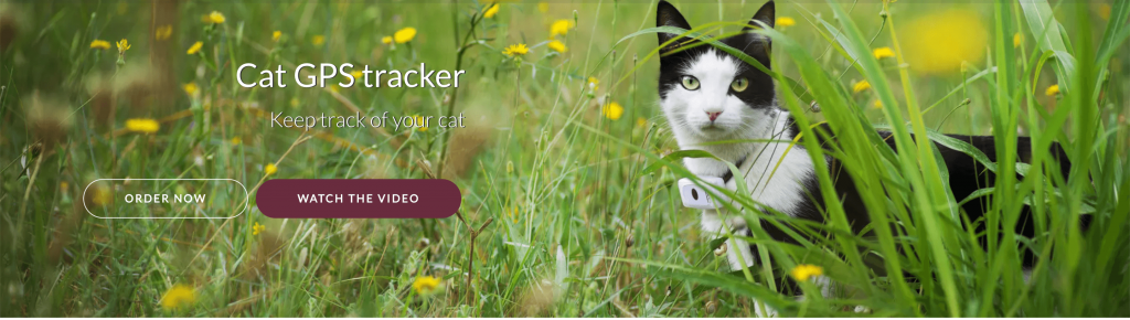 Weenect Cat GPS Tracker Buy Now Banner