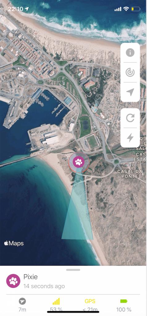 Weenect app screenshot 2