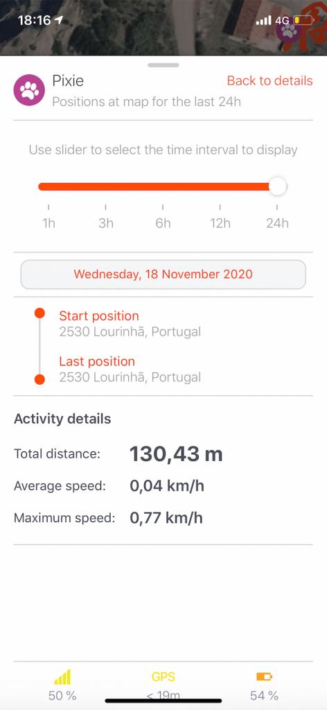 Weenect app screenshot 3